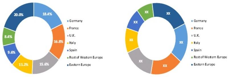 Europe Micro-Pump Market Share, 2013 & 2017 (%)