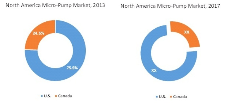 North America Micro-Pump Market Share, By Country