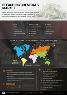 Info index view bleaching chemicals market information by segmentation  growth drivers and regional analysis