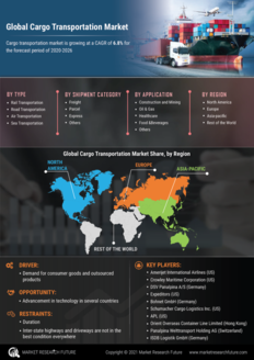 Info index view cargo transportation market information by segmentation  growth drivers and regional analysis