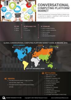 Info index view conversational computing platform market information by segmentation  growth drivers and regional analysis