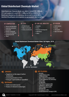 Info index view global disinfectant chemicals market information by segmentation  growth drivers and regional analysis