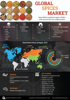 Info index view global spices market