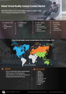 Info index view global virtual reality content creation market information by segmentation  growth drivers and regional analysis