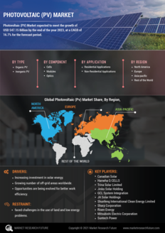 Info index view photovoltaic  pv  market 01