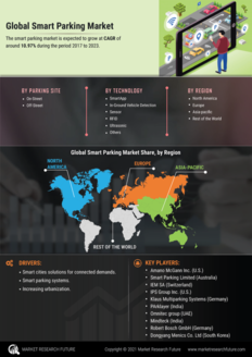 Info index view smart parking market information by segmentation  growth drivers and regional analysis