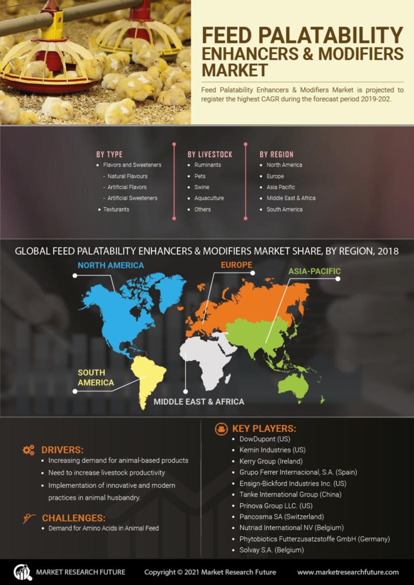Feed Palatability Enhancers Modifiers Market